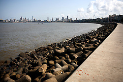 INDIA MUMBAI 29MAY10 - View of the skyline from Marine Drive in Mumbai, India...jre/Photo by Jiri Rezac..© Jiri Rezac 2010