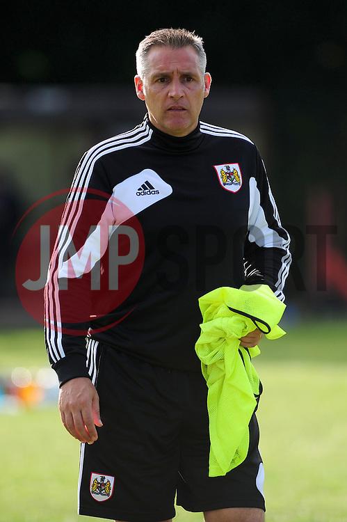 Bristol City's first team coach, John Pemberton - Photo mandatory by-line: Dougie Allward/JMP - Tel: Mobile: 07966 386802 03/07/2013 - SPORT - FOOTBALL - Bristol -  Ashton and Backwell United V Bristol City - Pre Season Friendly