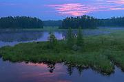 Isabel Lake at dawn<br /> Kenora<br /> Ontario<br /> Canada