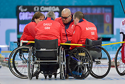 Aileen Neilson, Bob McPherson, Gregor Ewan, Jim Gault, Wheelchair Curling Semi Finals at the 2014 Sochi Winter Paralympic Games, Russia