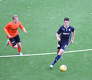 Dundee's Jesse Curran strides away from Dundee United's Scott Lochead - Dundee v Dundee United under 20s<br /> <br />  - &copy; David Young - www.davidyoungphoto.co.uk - email: davidyoungphoto@gmail.com