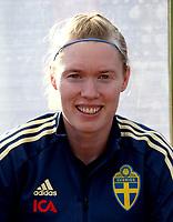 International Women's Friendly Matchs 2019 / <br /> Womens's Algarve Cup Tournament 2019 - <br /> Portugal v Sweden 2-1 ( Municipal Stadium - Albufeira,Portugal ) - <br /> Hedvig Lindahl of Sweden