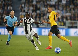 October 2, 2018 - Turin, Italy - Blaise Matuidi during Champions League match between Juventus v Young Boys, in Turin, on October 2, 2018. (Credit Image: © Loris Roselli/NurPhoto/ZUMA Press)