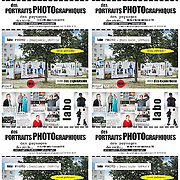 flyer de 4 visuels format A6 contenus dans un A4. PDF