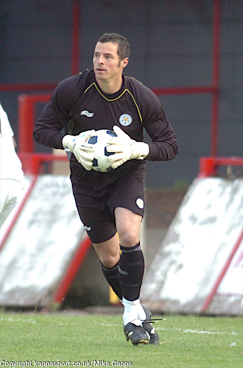 CHRIS WEALE GOALKEEPER LEICESTER CITY, Kettering Town v Leicester City, Pre Season Friendly, Tuesday 26th July 2011