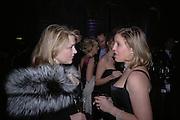 Lady ( Caroline ) Dalmany and Ilaria Bulgari. The Black and White Winter Ball. Old Billingsgate. London. 8 February 2006. -DO NOT ARCHIVE-© Copyright Photograph by Dafydd Jones 66 Stockwell Park Rd. London SW9 0DA Tel 020 7733 0108 www.dafjones.com