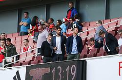 Sami Khedira seen in the stands - Mandatory by-line: Arron Gent/JMP - 28/07/2019 - FOOTBALL - Emirates Stadium - London, England - Arsenal Women v Bayern Munich Women - Emirates Cup