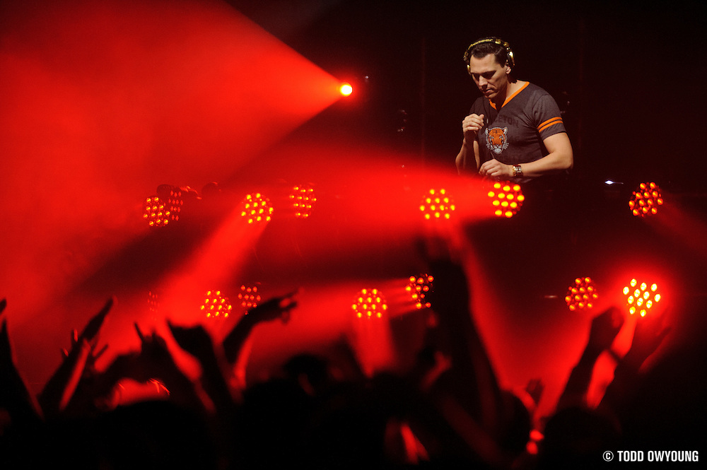 DJ Tiesto performing at the Pageant in St. Louis, Missouri on March 16, 2011.