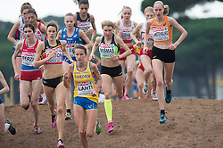 Marusa Mismas of Slovenia competes in Women U23 category at Hyères 2015 SPAR European Cross Country Championships, on December 13, 2015 in Hyeres, France. Photo by Saso Pahic Szabo / Sportida