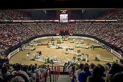 Overzicht arena<br /> World Cup Final Jumping - Las Vegas 2000<br /> © Hippo Foto - Dirk Caremans