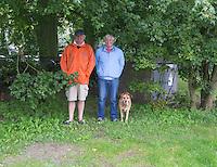AMSTELVEEN - HOCKEY - Arthur Gol , publiek tijdens  oefenwedstrijd tussen de vroouwen van Bloemendaal en KZ  COPYRIGHT KOEN SUYK