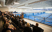 The Stevens Center tennis and golf facility dedication.