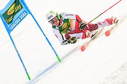 March 9, 2019 - Kranjska Gora, Kranjska Gora, Slovenia - Daniel Meier of Austria in action during Audi FIS Ski World Cup Vitranc on March 8, 2019 in Kranjska Gora, Slovenia. (Credit Image: © Rok Rakun/Pacific Press via ZUMA Wire)