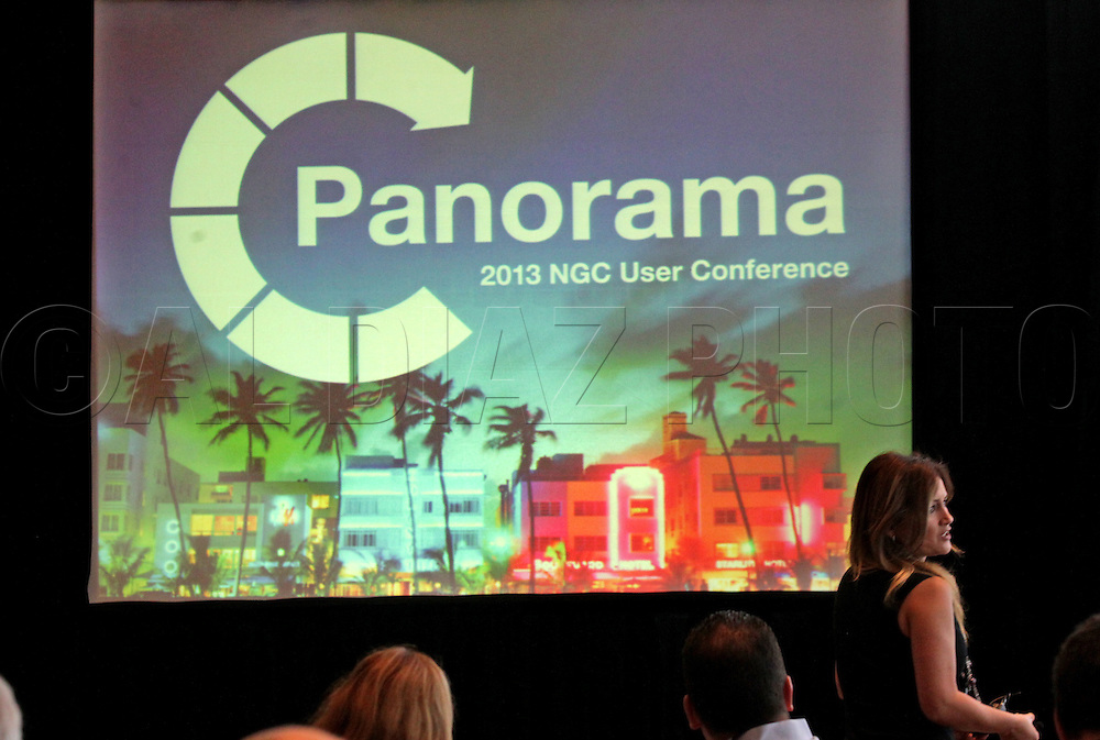 during the Panorama 2013 NGC User Conference at the Eden Roc Renaissance Hotel on Wednesday, November 13, 2013.