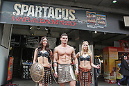 Spartacus: War Of The Damned - photocall