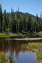 """Five Lakes 1"" - Photograph of one of the Five Lakes in the Tahoe area."