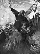 Russo-Japanese War 1904-1905:  The Dogger Bank incident, October 1904, when ships of the Russian Baltic Fleet attacked fishing boats on the Dogger Bank.