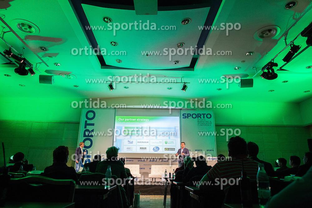 Mark Versteegen and Koos Onderwater (KPN) during Sports marketing and sponsorship conference Sporto 2015, on November 19, 2015 in Hotel Slovenija, Congress centre, Portoroz / Portorose, Slovenia. Photo by Vid Ponikvar / Sportida