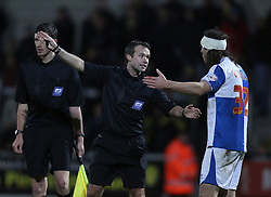 Bristol Rovers' John-Joe OToole is sent off- Photo mandatory by-line: Matt Bunn/JMP - Tel: Mobile: 07966 386802 23/11/2013 - SPORT - Football - Burton - Pirelli Stadium - Burton Albion v Bristol Rovers - Sky Bet League Two