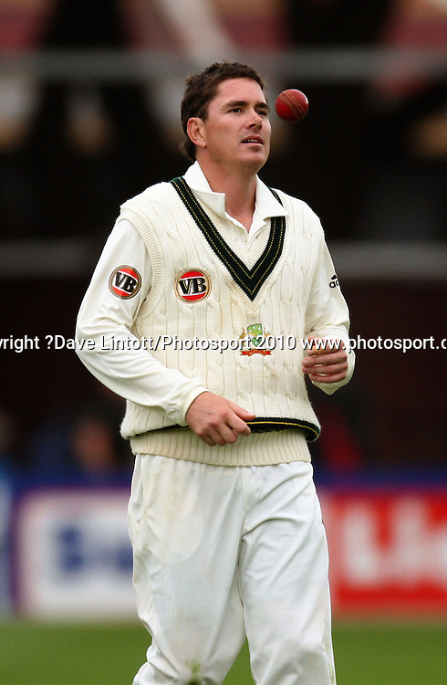 Australian bowler Marcus North.<br /> 1st cricket test match - New Zealand Black Caps v Australia, day two at the Basin Reserve, Wellington.Saturday, 20 March 2010. Photo: Dave Lintott/PHOTOSPORT