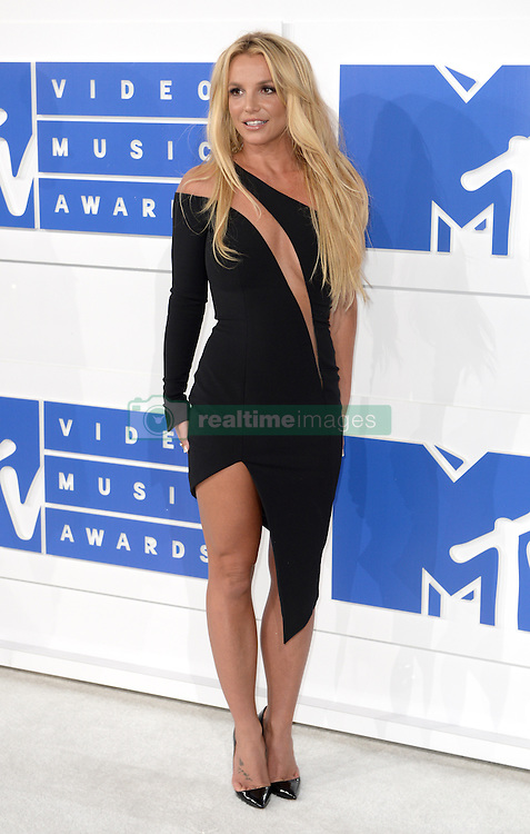 Britney Spears arriving at the MTV Video Music Awards 2016, Madison Square Garden, New York City. Photo credit should read: Doug Peters/EMPICS Entertainment