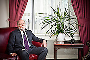 Patrick Parkinson at the Federal Reserve in Washington, DC on January 14, 2010. Parkinson was recently named the new banking regulator for the Reserve.