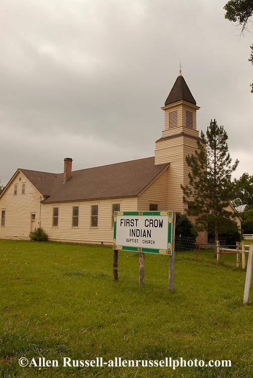 Lodge Grass, Montana, Crow Indian Reservation, Baptist Church