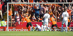 Dundee United&rsquo;s Billy McKay (7) cele scoring their goal. <br /> Half time : Dundee United 1 v 0 Inverness Caledonian Thistle, SPFL Ladbrokes Premiership game played 19/9/2015 at Tannadice.