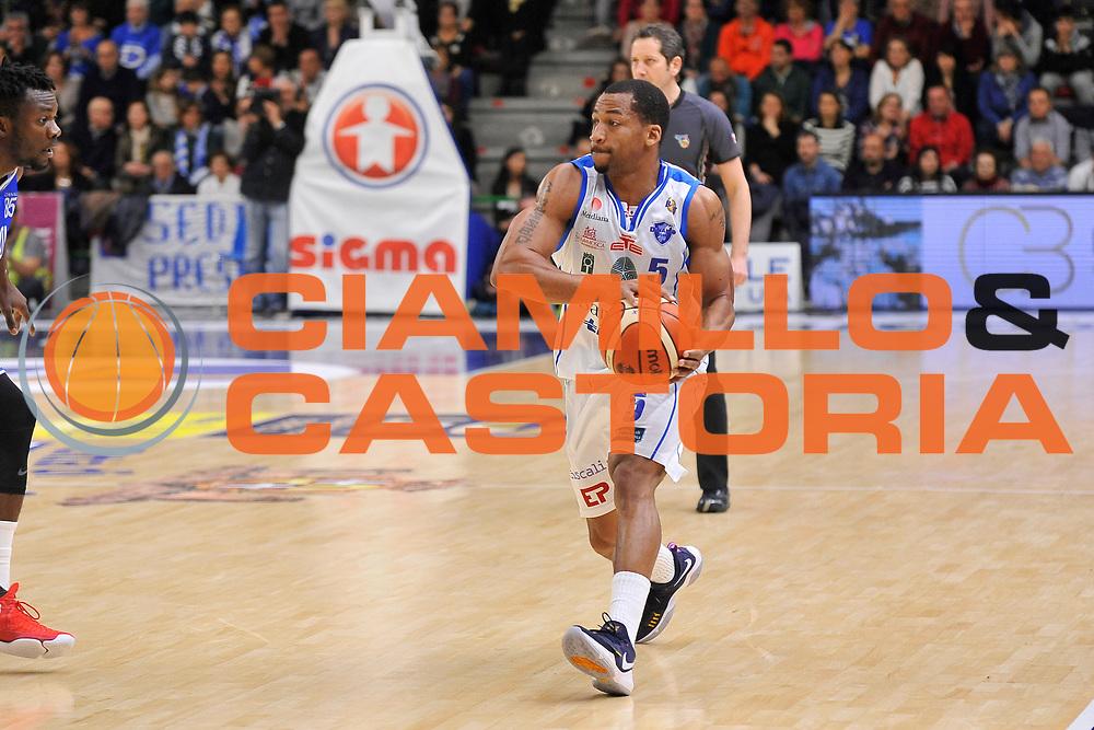 David Bell<br /> Banco di Sardegna Dinamo Sassari - Enel New Basket Brindisi<br /> LegaBasket Serie A LBA Poste Mobile 2016/2017<br /> Sassari 02/04/2017<br /> Foto Ciamillo-Castoria