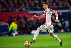 10-04-2019 NED: Champions League AFC Ajax - Juventus,  Amsterdam<br /> Round of 8, 1st leg / Ajax plays the first match 1-1 against Juventus during the UEFA Champions League first leg quarter-final football match / Dusan Tadic #10 of Ajax