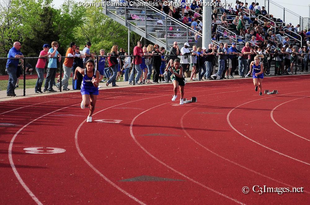 Danny Jones Middle School @ Midlothian Middle School - Track Meet 3-31-11