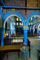 El Ghriba Synagogue interior, Djerba Island, Tunisia