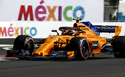 October 26, 2018 - Mexico-City, Mexico - Motorsports: FIA Formula One World Championship 2018, Grand Prix of Mexico, .#2 Stoffel Vandoorne (BEL, McLaren F1 Team) (Credit Image: © Hoch Zwei via ZUMA Wire)