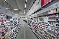 Interior image of Walgreens Store in Long Island New York by Jeffrey Sauers of Commercial Photographics, Architectural Photo Artistry in Washington DC, Virginia to Florida and PA to New England