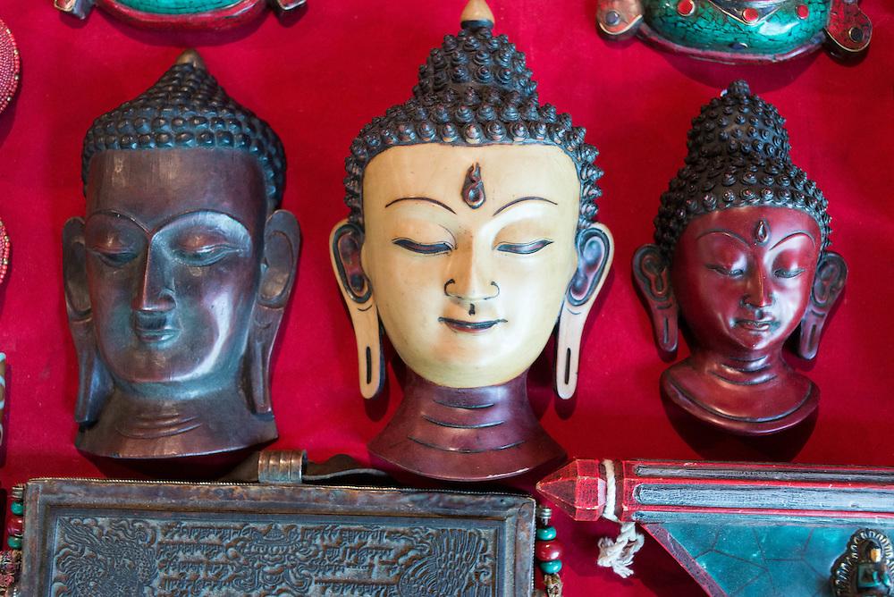 Mask at a market in Thimpu, Bhutan<br /> <br /> Full photoessay at http://xpatmatt.com/photos/bhutan-photos/