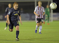 February 20, 2019 - Sheffield, United Kingdom - Martha Harris (manchester United) chases the ball during the  FA Women's Championship football match between Sheffield United Women and Manchester United Women at the Olympic Legacy Stadium, on February 20th Sheffield, England. (Credit Image: © Action Foto Sport/NurPhoto via ZUMA Press)