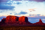 Monument Valley, Monument Pass, Navajo Nation Reservation, Utah
