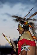 Crow Fair Powwow, Traditional Dancer, Crow Indian Reservation, Montana