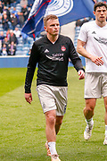 Stephen Gleeson of Aberdeen FC during the Ladbrokes Scottish Premiership match between Rangers and Aberdeen at Ibrox, Glasgow, Scotland on 27 April 2019.