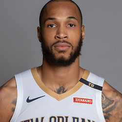 Sep 24, 2018; New Orleans, LA, USA; New Orleans Pelicans forward Garlon Green (33) poses for a portrait during Media Day at Ochsner Performance Center. Mandatory Credit: Derick E. Hingle-USA TODAY Sports