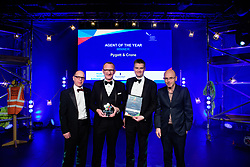 Agent of the Year, sponsored by Willmott Dixon.  Winner: Pygott &amp; Crone.<br /> <br /> Greater Lincolnshire Construction and Property Awards 2018 organised by Lincolnshire Chamber of Commerce and held at The Engine Shed, Lincoln.<br /> <br /> Picture: Chris Vaughan Photography<br /> Date: February 6, 2018