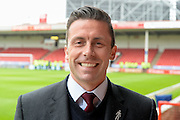 Former player & Sky sports pressnter David Prutton during the Sky Bet League 1 play-off second leg match between Walsall and Barnsley at the Banks's Stadium, Walsall, England on 19 May 2016. Photo by Dennis Goodwin.