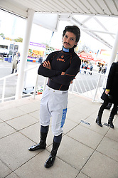 SAM WALEY-COHEN at the Hennessy Gold Cup at Newbury Racecourse, Berkshire on 26th November 2011.