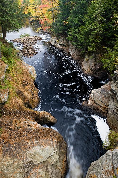 Below Snow Falls in West Paris, Maine.  Fall.