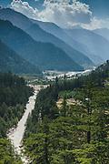 Landscape of Sangla Valley, Kinnaur