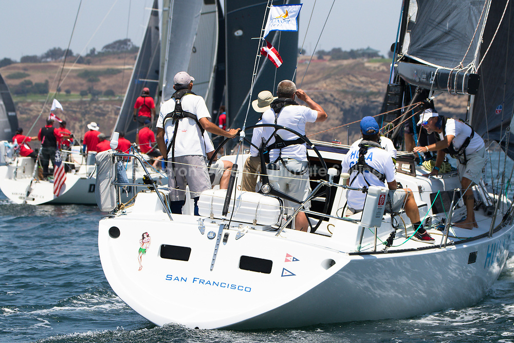 2017 TRANSPAC<br /> START 7517<br /> &copy; Betsy Crowfoot / Ultimate Sailing