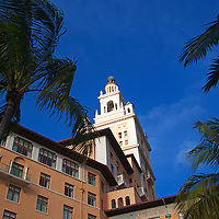 USA, Florida, Coral Gables. The Biltmore Hotel, a National Historic Landmark.