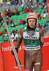 03.02.2017, Heini Klopfer Skiflugschanze, Oberstdorf, GER, FIS Weltcup Ski Sprung, Oberstdorf, Skifliegen, im Bild Dawid Kubacki (POL) // Dawid Kubacki (POL) during mens FIS Ski Flying World Cup at the Heini Klopfer Skiflugschanze in Oberstdorf, Germany on 2017/02/03. EXPA Pictures © 2017, PhotoCredit: EXPA/ Sammy Minkoff<br /> <br /> *****ATTENTION - OUT of GER*****