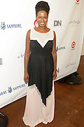 Water Mill, New York: Tangie Murray, Executive Director, RUSH Philanthropic Arts Foundation attends the RUSH Philanthropic Arts Foundation 15th Annual Art For Life Benefit Gala held in the Hamptons at the Farmview Farms on July 26, 2014  in Water Mill, New York. (Terrence Jennings)