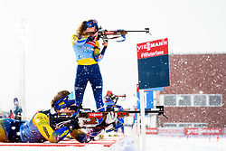 March 9, 2019 - –Stersund, Sweden - 190309 Mona Brorsson and Hanna Öberg of Sweden at the women's training session during the IBU World Championships Biathlon on March 9, 2019 in Östersund..Photo: Petter Arvidson / BILDBYRÃ…N / kod PA / 92250 (Credit Image: © Petter Arvidson/Bildbyran via ZUMA Press)